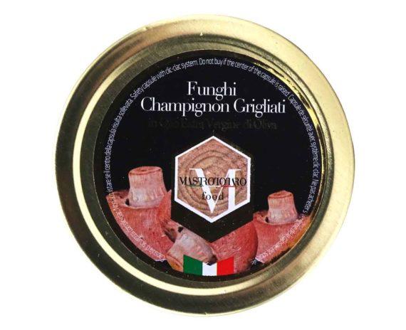 Funghi champignon grigliati Mastrototaro 370gr