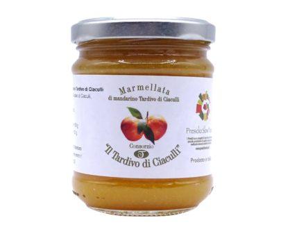 Marmellata di mandarino tardivo di Ciaculli 230gr