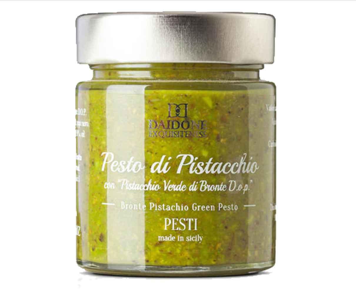 Pesto di pistacchio bronte dop Daidone Exquisiteness