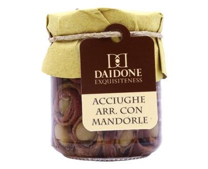 Acciughe con mandorle Daidone Exquisiteness 200gr