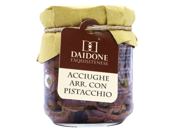 Acciughe con pistacchi Daidone Exquisiteness 200gr