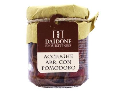 Acciughe con pomodori Daidone Exquisiteness 200gr
