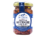 Acciughe in olio di oliva Ittica di Lucia 150gr