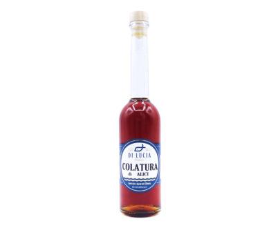 Colatura di Alici in bottiglia Ittica di Lucia