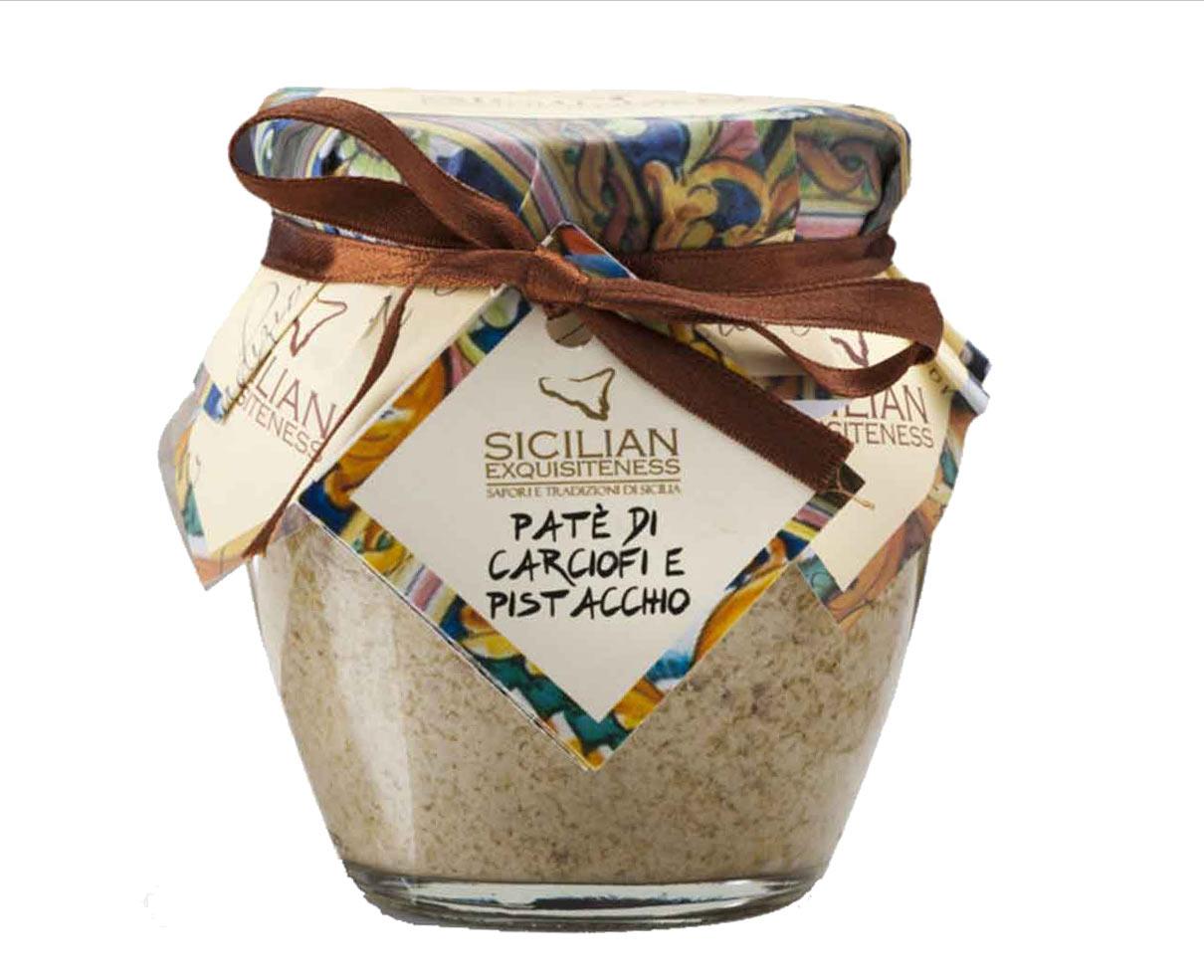 Pate' di carciofi e pistacchio Daidone 180gr