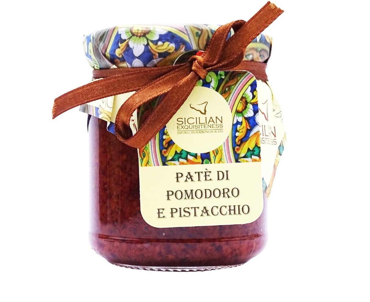 Pate' di pomodoro e pistacchio Daidone 180gr