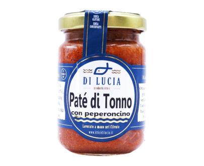 Pate' di tonno con peperoncino Ittica di Lucia 130gr