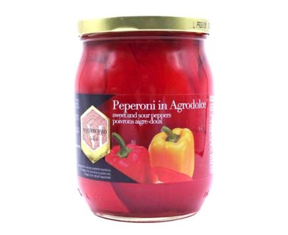 Peperoni in agrodolce Mastrototaro 550gr