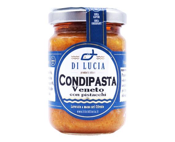 Sugo Condipasta Veneto con pistacchi Ittica di Lucia 130gr