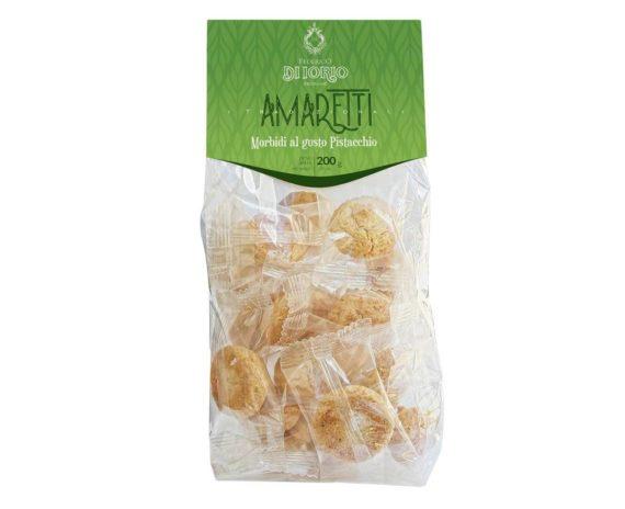 Biscotti amaretti al pistacchio Di Iorio 200gr