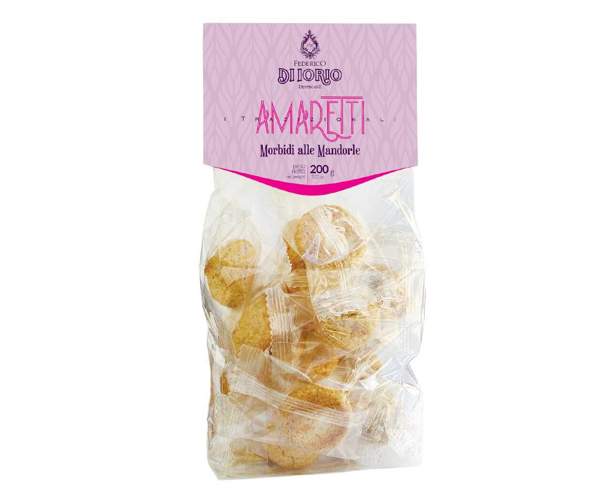 Biscotti amaretti classici alle mandorle Di Iorio 200gr