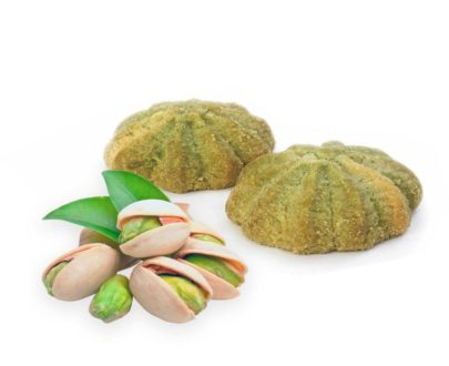 Biscotti frollini al gusto pistacchio Di Iorio 250gr