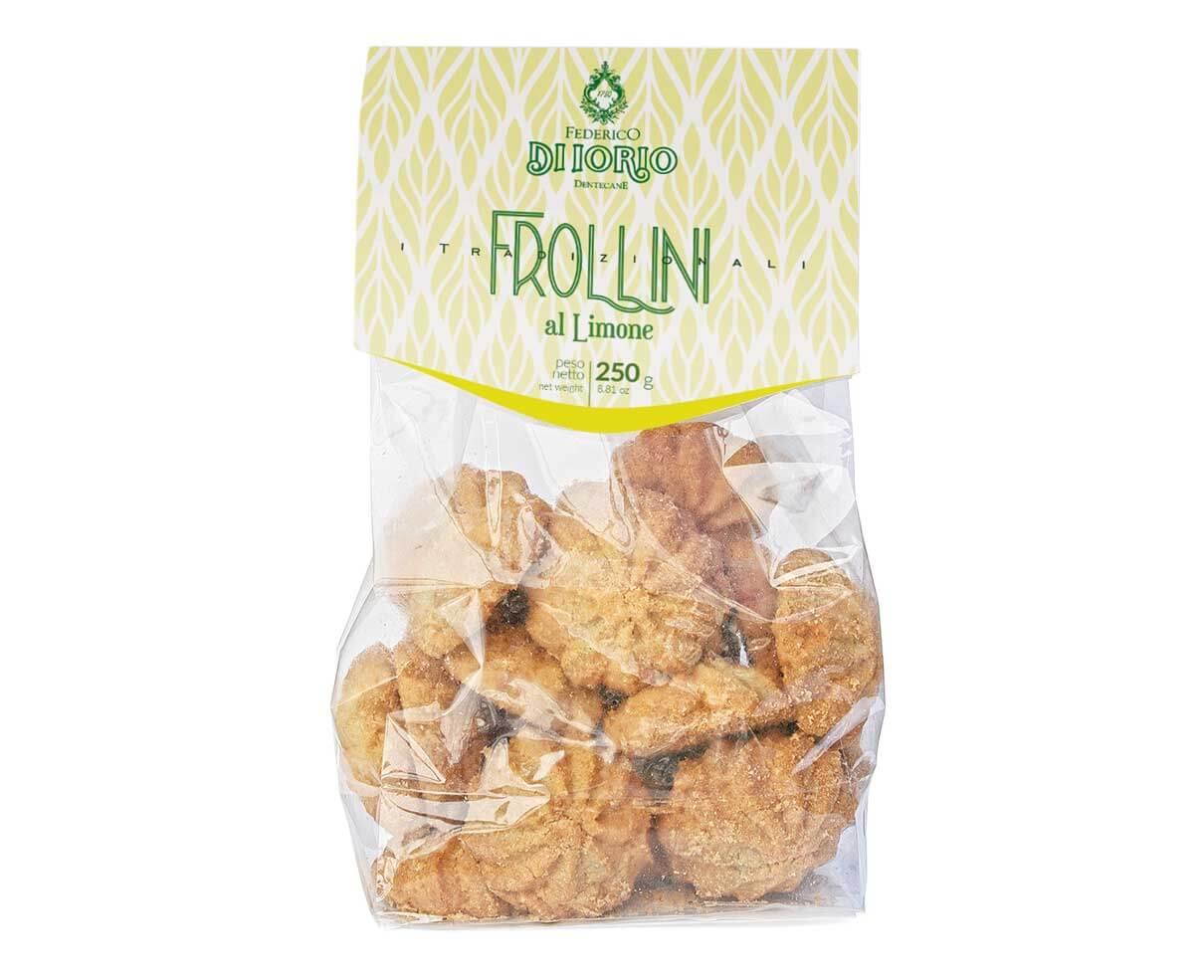 Biscotti frollini al limone Di Iorio 250gr