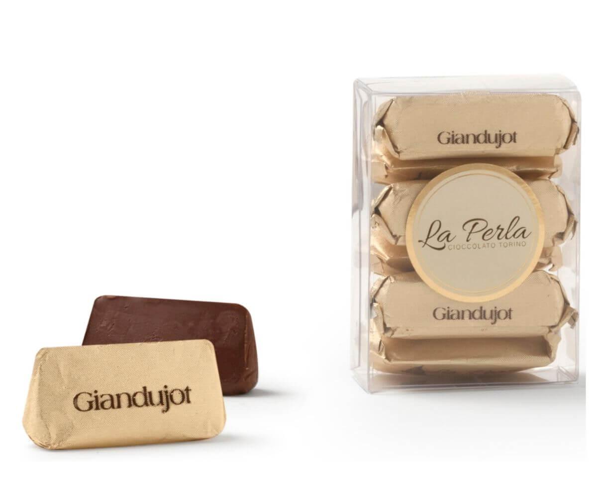 Cioccolatini gianduiotti giandujot La perla 55gr