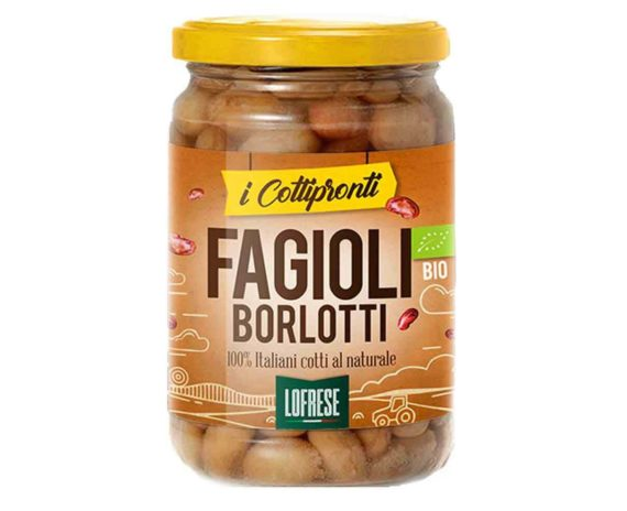Fagioli borlotti bio I Cottipronti Lofrese 360gr