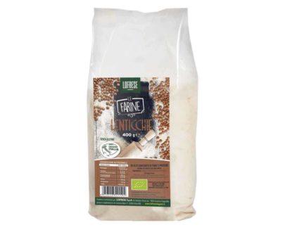 Farina di lenticchie rosse biologica Lofrese 400gr