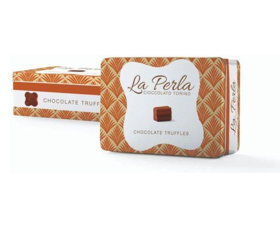 Latta ocra di tartufi di cioccolato La perla 200gr