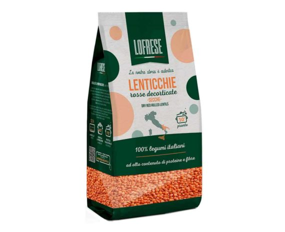 Lenticchie rosse decorticate Lofrese 400gr
