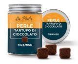 Perle di tartufo di cioccolato al tiramisù La perla 50gr