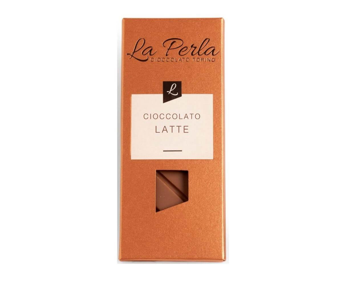 Tavoletta di cioccolato al latte La Perla 60gr