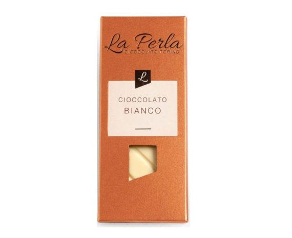 Tavoletta di cioccolato bianco La perla 60gr