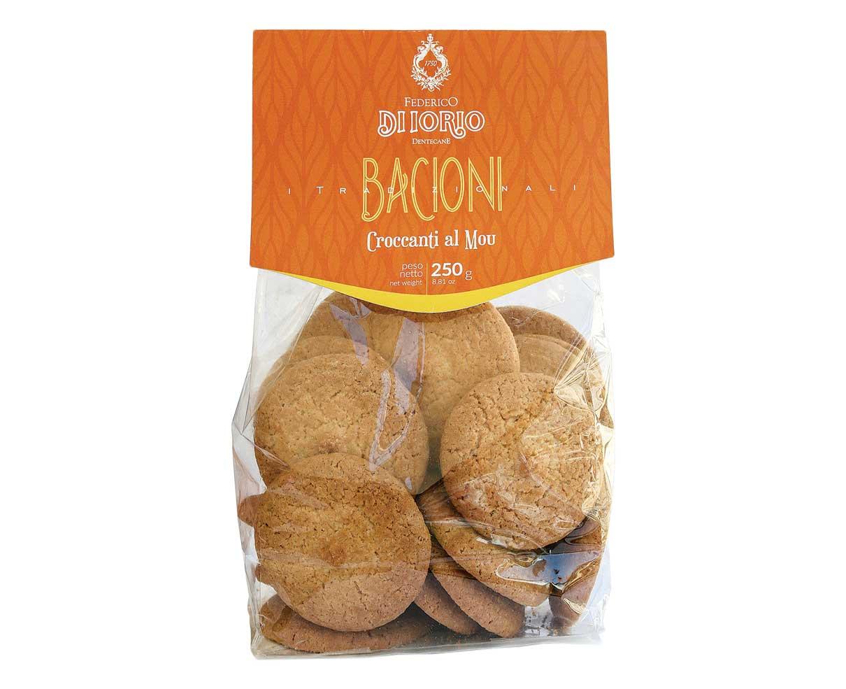 Biscotti bacioni croccanti al mou Di Iorio 250gr