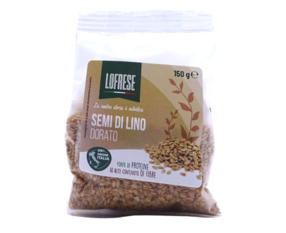 Semi di lino dorato Lofrese 150gr