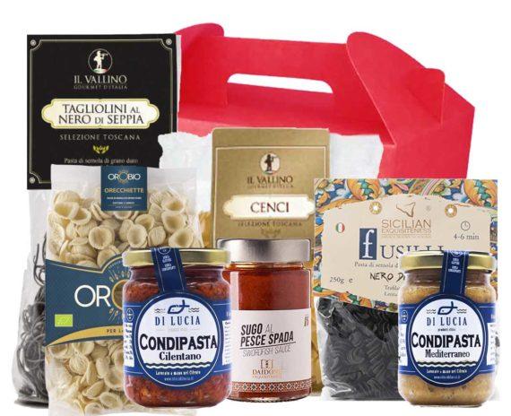 Pasta e Sughi di Mare Confezione Regalo Natale Personalizzabile