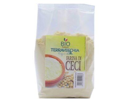 Farina di ceci bio siciliana Terravecchia 500gr