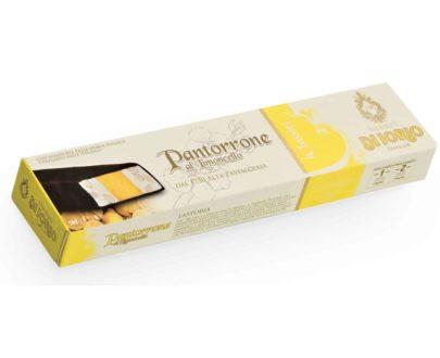 Pantorrone al limoncello farcito ricoperto di cioccolato Di Iorio 160gr