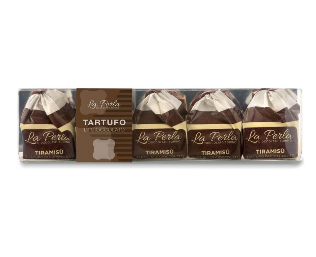 Pocket 5 tartufi di cioccolato al tiramisu' La perla 75gr