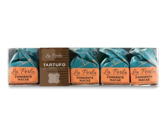 Pocket 5 tartufi di cioccolato fondente macaé La perla 75gr