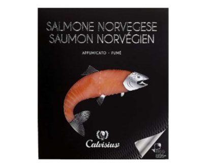 Salmone norvegese affumicato Calvisius 100gr