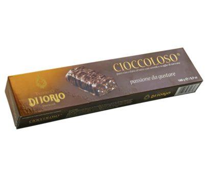 Torrone Cioccoloso al latte con cereali Di Iorio 160gr