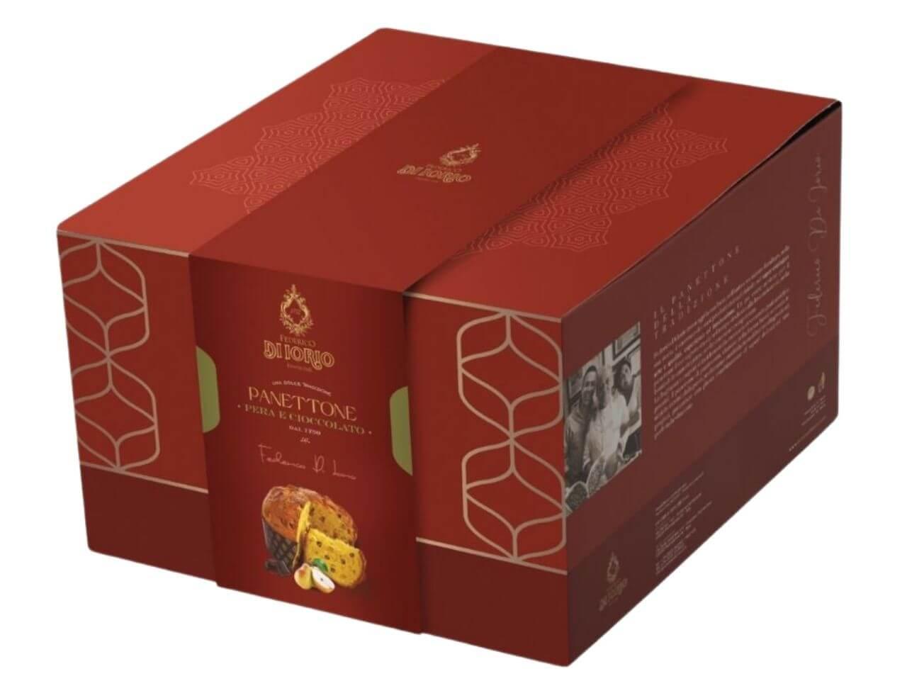 Panettone con pera e cioccolato Di Iorio 1000gr