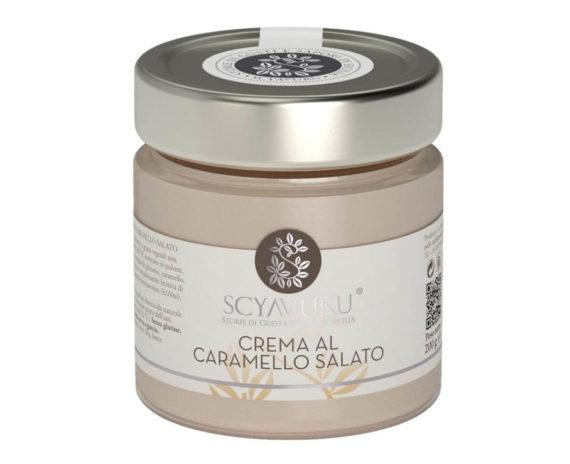 Crema al caramello salato Scyavuru 200gr