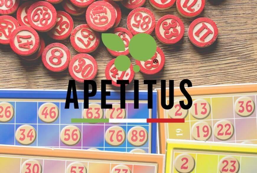 Tombola di Natale tradizionale: il gioco italiano con i premi Apetitus.