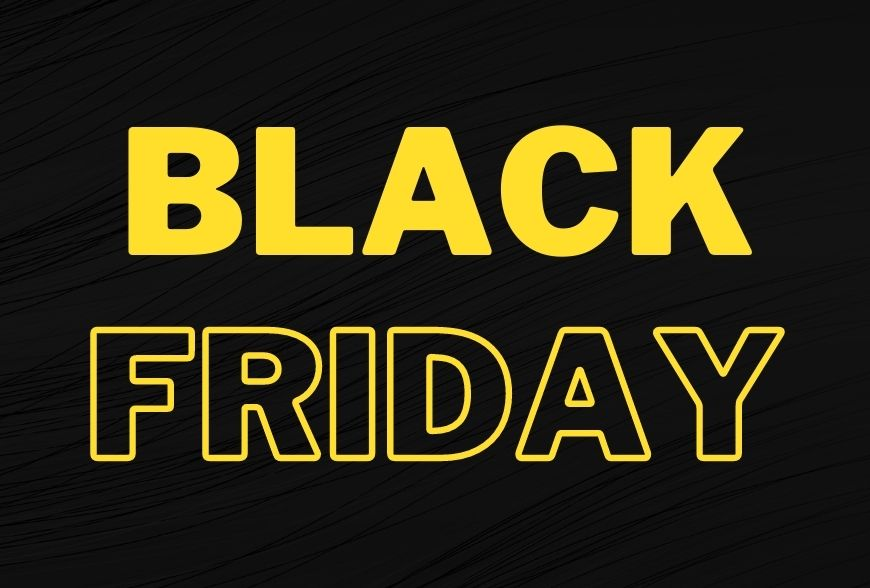 BLACK FRIDAY 30 EURO PER TE