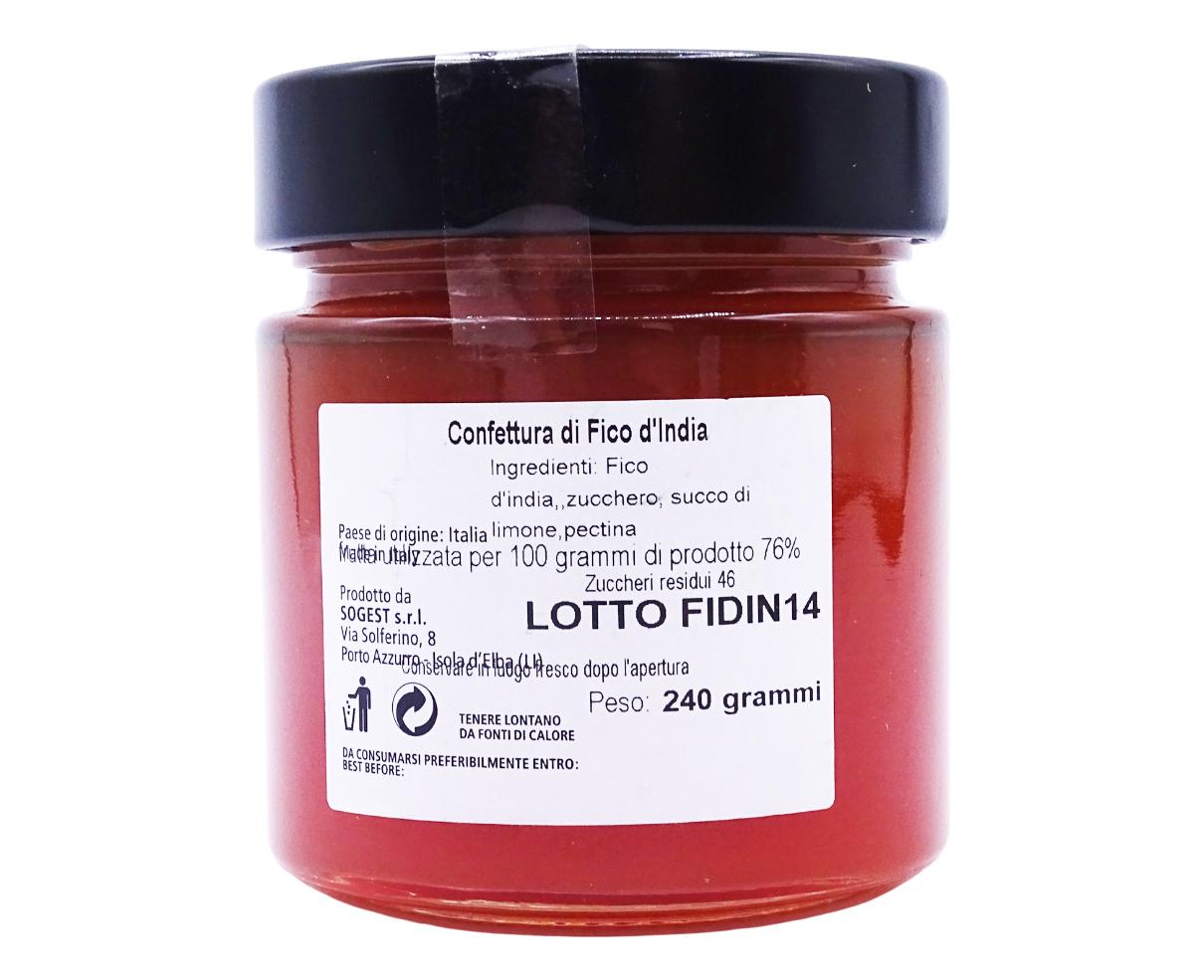 Confettura di fichi d'india Armando in Porto Azzurro 240gr