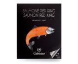 Salmone Red king affumicato Calvisius 90gr