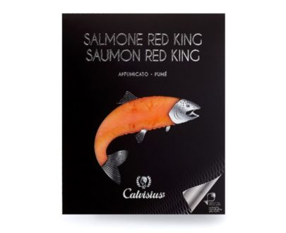 Salmone Red king affumicato Calvisius 90gr