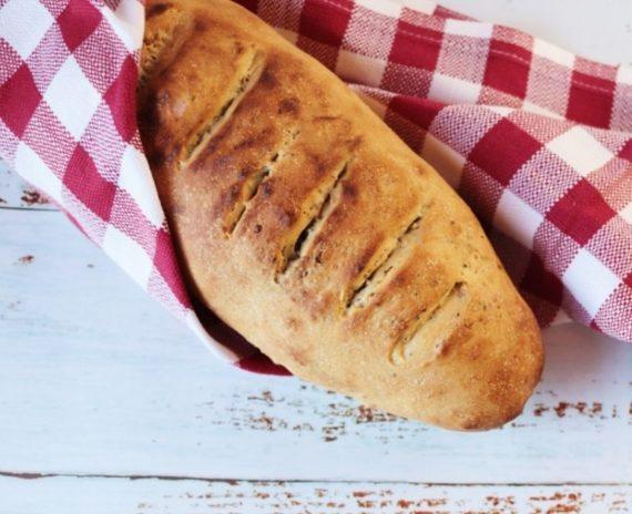 Pane ai semi con farina di Kamut