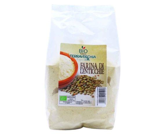 Farina di lenticchie bio Terravecchia 500gr