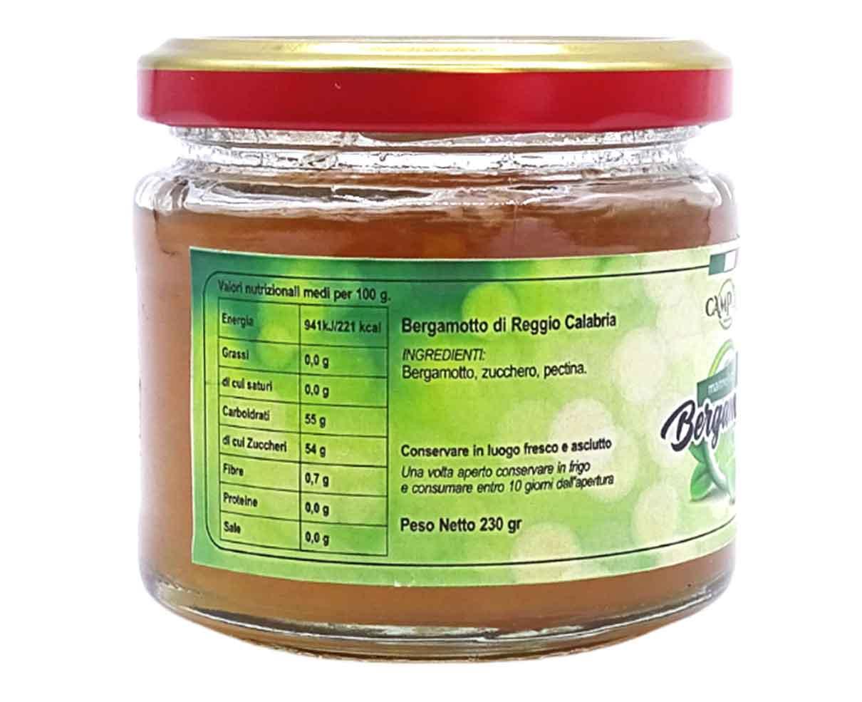 Marmellata di Bergamotto Campolo 230gr