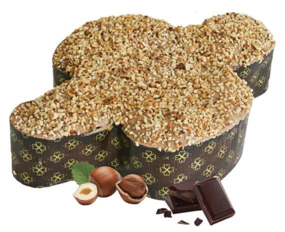 Colomba Pasquale Artigianale con farina di mais, nocciola e cioccolato 1kg