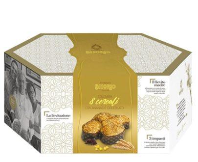 Colomba Pasquale Artigianale 8 cereali Di Iorio 1kg