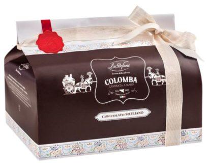 Colomba Pasquale Artigianale al cioccolato siciliano Di Stefano 750gr