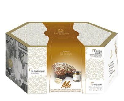 Colomba Pasquale Artigianale con crema mou al latte di bufala Di Iorio 1kg