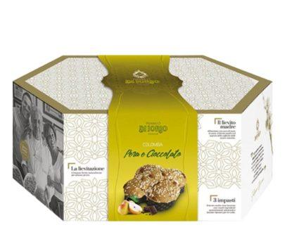 Colomba Pasquale Artigianale pera e cioccolato Di Iorio 1kg