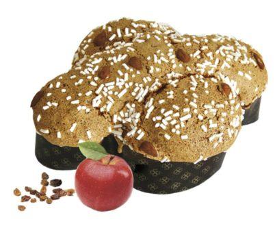 Colomba Pasquale Artigianale strudel con mela uvetta e cannella Di Iorio 1kg